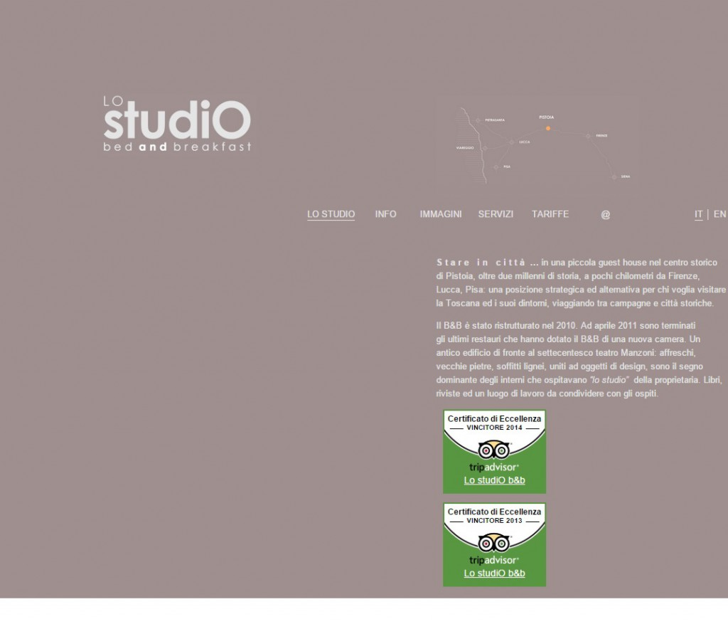 Restyling sito http://www.lostudiobb.it